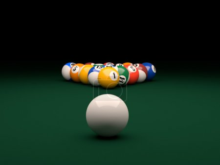 Pool background