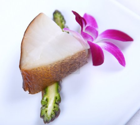 White fish and flower