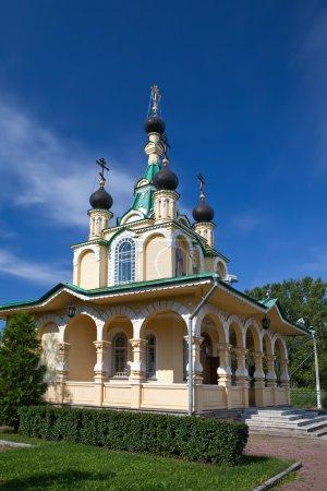 """Photo pour Eglise pour le bien de l'icône de la Mère de Dieu """"Tout plaisir endeuillé"""". La Russie. Pétersbourg . - image libre de droit"""