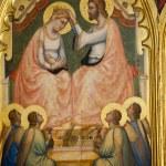 Florence - Santa Croce: the Baroncelli Chapel. Bar...