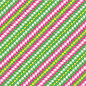 Gingham fabric decorated with ric-racs seamless pattern included