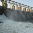 Hydroelectric Power Plant, located on the Dniester...
