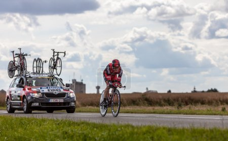 Beaurouvre,France,21st 2012:The Australian cyclist...