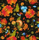Seamless Background Flower Decorative