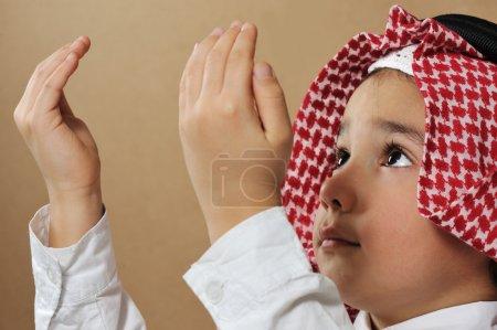 Photo for Muslim Kid praying - Royalty Free Image