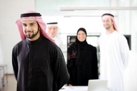 Business arabic meeting indoor