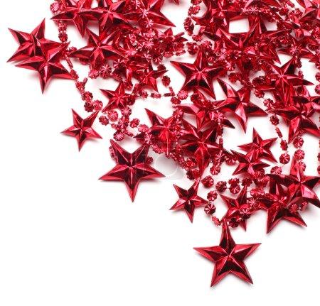 Photo pour Arrière-plan avec étoiles rouges - image libre de droit