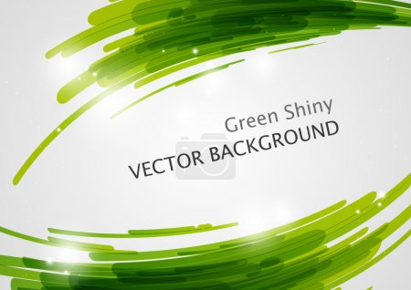 Green abstract background with place for text...