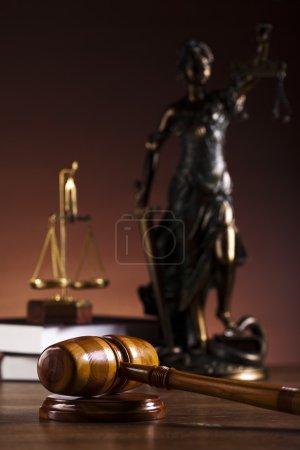 Photo pour Notion de droit et la justice - image libre de droit
