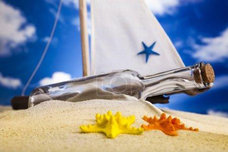 Foto de Fondo de playa de verano - Imagen libre de derechos