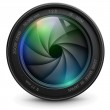 Camera photo lens with shutter....