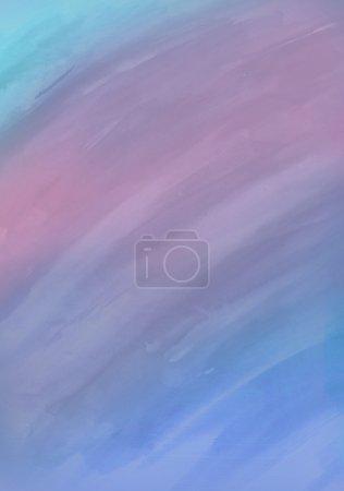 Foto de Fondo acuarela con rayas en colores azules, rosa, violetas y oscuros azules - Imagen libre de derechos