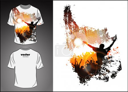 Vector. T-shirt design