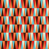 Abstract colorful geometric pattern background Vector file layered for easy manipulation and coloring