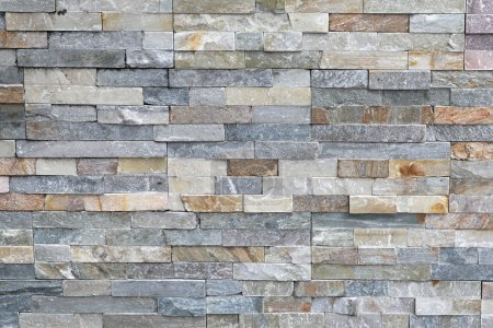 Photo for Small tiles made from natural granite stone - Royalty Free Image