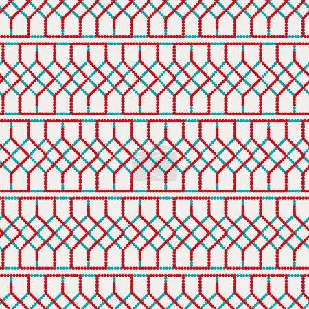 Wicker Seamless Pattern