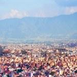 View of Kathmandu, capital city of Nepal