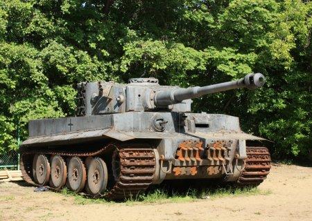 Photo pour Char de combat allemand de la Seconde Guerre mondiale - image libre de droit