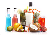 Exotické alkoholických nápojů s ovocem