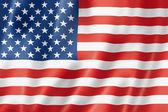 "Постер, картина, фотообои ""United States flag"""