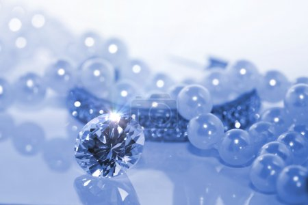 Photo for Blue gems - Royalty Free Image