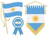 Argentina flags