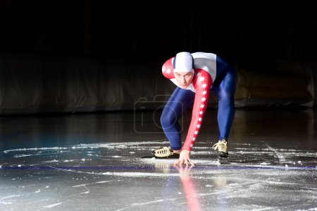 Speed skating start