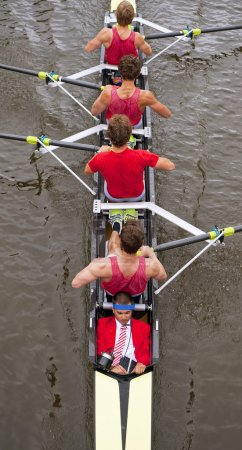 Coxed four