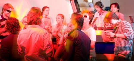 A party in a nightclub