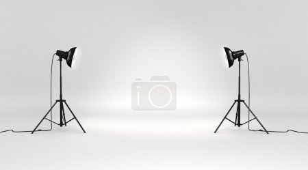 Photo for 3d studio set - Royalty Free Image