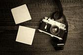Retro styl fotoaparát