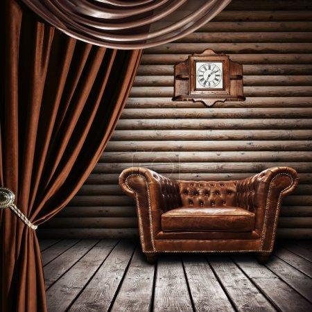 Interior of vintage room
