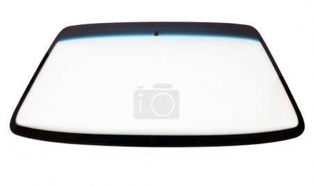 Photo for New car windshield isolated on white background - Royalty Free Image