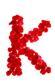 Růží, které tvoří dopis