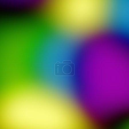 Photo pour Un fond de lumière abstraite fusionnant les couleurs - image libre de droit