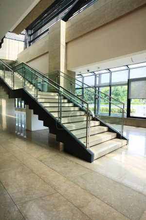 Photo for Modern stairs in a building - Royalty Free Image
