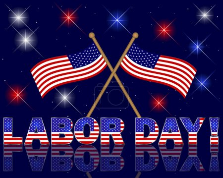 Labor Day background.