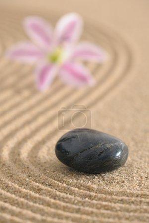 Photo pour Jardin zen - image libre de droit
