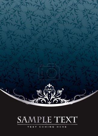 Illustration pour Enveloppe vintage royale au format vectoriel modifiable - image libre de droit