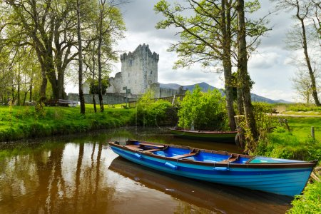 Boat at Ross Castle