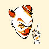 Clown face