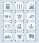 Home electronics icons   TECH series