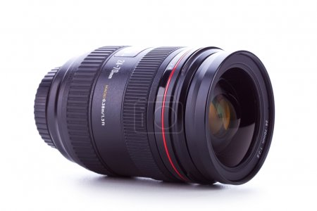 Side view of a 24-70 zoom lens