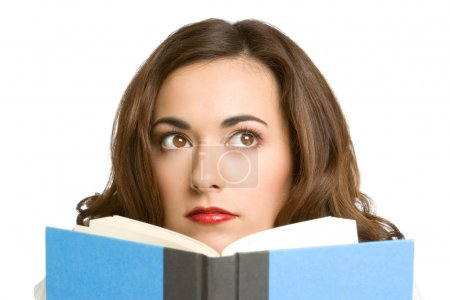 Photo for Woman Reading Book - Royalty Free Image