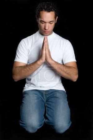 Photo for Man Praying - Royalty Free Image