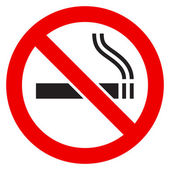 The sign No Smoking