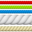 Illustration of Different size and color Rope....