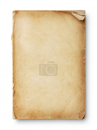 Photo for Old book pages with shadow. With clipping path - Royalty Free Image