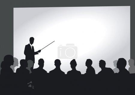 Presentation in the auditorium