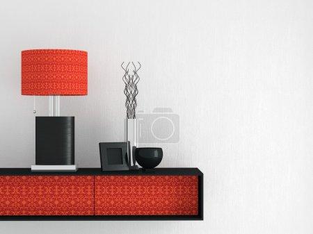 Living room furniture. Interior design.